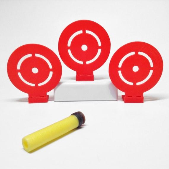 Target Toy Guns : Flip down target set of for nerf toy foam soft dart guns