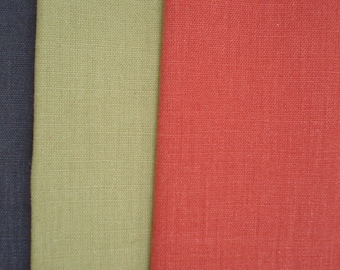 Hemp Canvas Fabric in a Unique Range of  Stylish Colours, Hemp fabric by the metre for Upholstery, Curtains, Beanbags, Clothes, Dog/Cat Beds