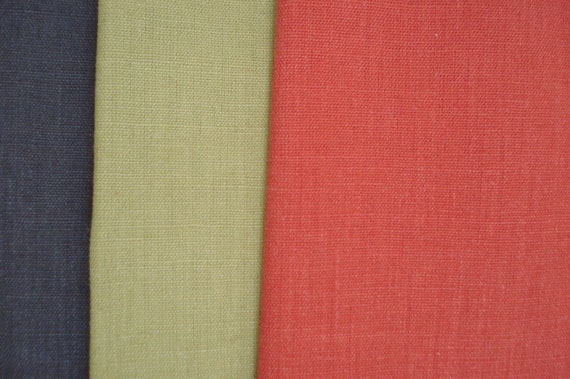Hemp canvas fabric in a unique range of stylish colours for Childrens curtain fabric by the metre