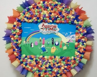 Adventure Time Pull String or Hit Pinata