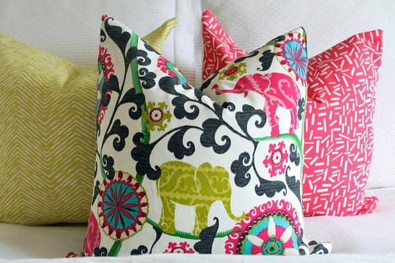 The most popular pillow at Bright and Bold Designs