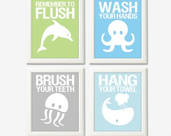 bathroom pictures to hang on wall boy bathroom art etsy
