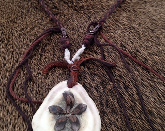 Moose antler necklace SOLD
