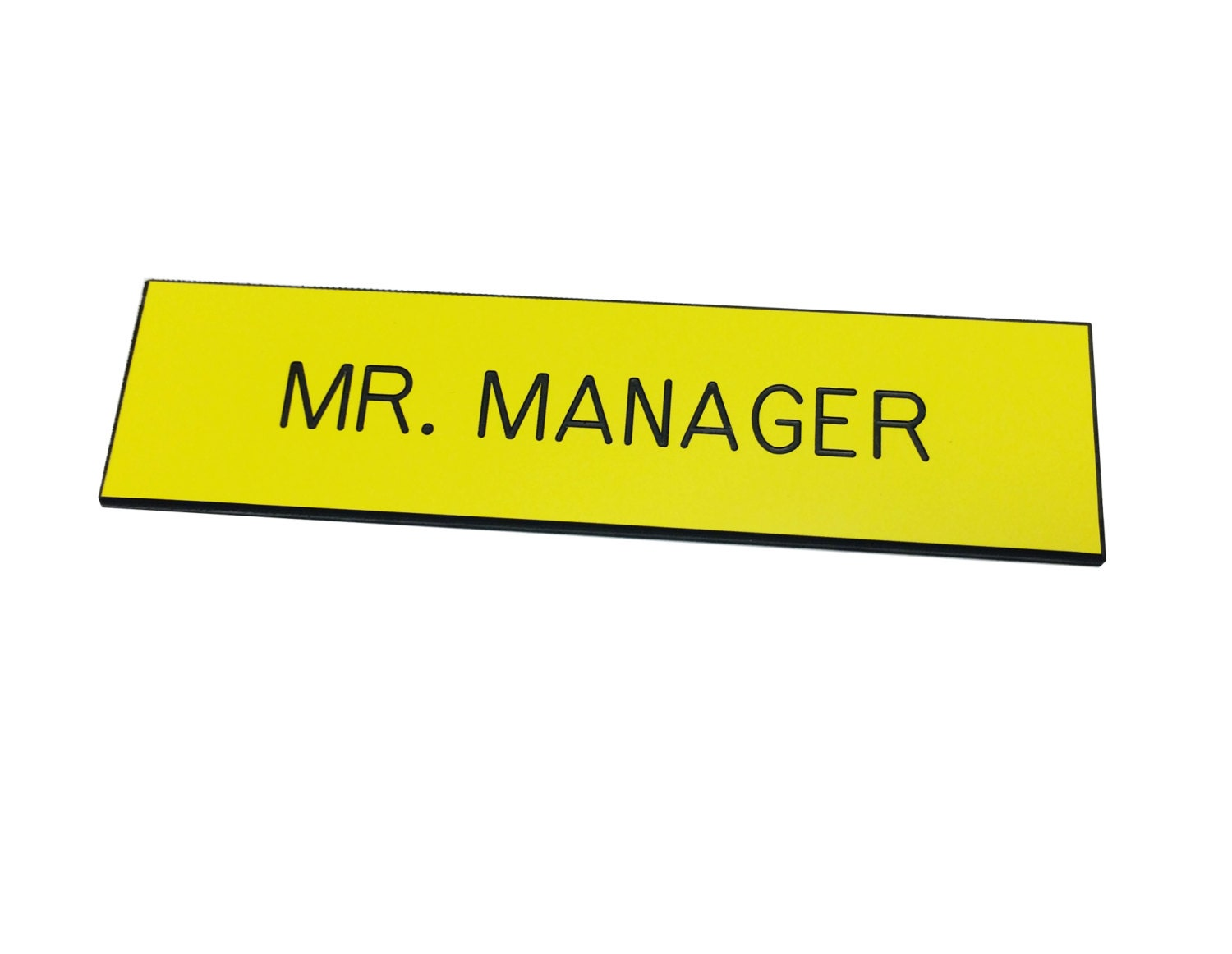 Manager Name Tag