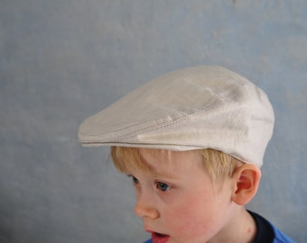 Boy Flat Cap, Ring Bearer  Outfit  Driving Cap,Newsboy Hat,Ivy Scally cap Infant Cabbie hat