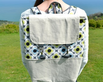 Box Rucksack / backpack SEWING PATTERN