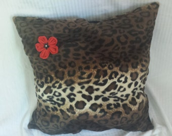 Animal Print Floor Pillows : Animal print pillows