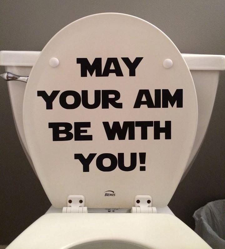 star wars toilet  etsy, Bathroom decor