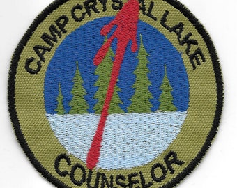 The original Camp Crystal Lake Counselor patch - bloody variant
