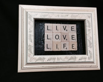 """Framed Wall or Desk """"Life Saying""""   ***FREE SHIPPING***"""