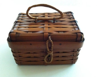 Japanese Lunch basket with handle