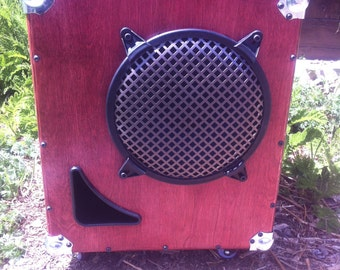 Bass Guitar Speaker Cabinet 1X10 Ported Vent