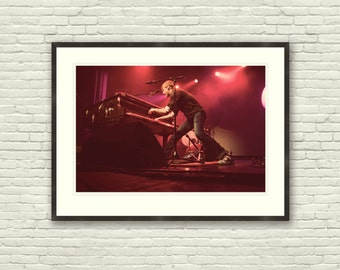 Andrew McMahon, Jack's Mannequin Photograph Print - 30 x 20 or 18 x 12, music, vintage style, concert, nursery, San Francisco