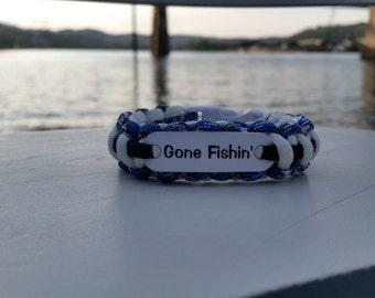 Gone Fishin' Survival Bracelet