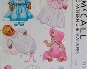 """11"""" Dy Dee Baby Doll Clothes Pattern"""