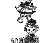 Raggedy Babies Sock Doll Pattern