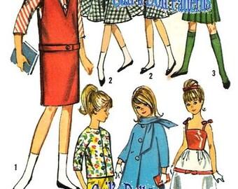 Skipper Wardrobe #2 Pattern for 9 inch Dolls