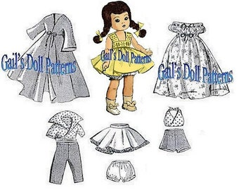 Ginny Wardrobe Pattern with Sundress and Pedal Pushers