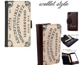 mystifying oracle ouija board - Smartphone case for iphone and galaxy smartphones - Leather wallet