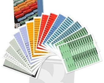 FreedomFiler Kit (Labels) for Organization