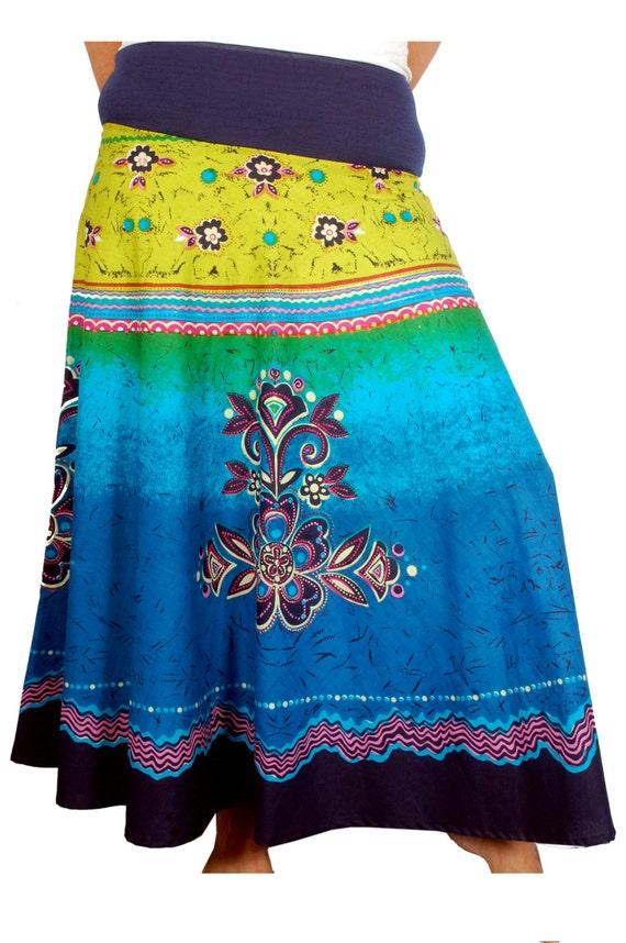 items similar to maxi cotton skirt skirt pattern