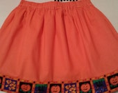 REDUCED Halloween skirt SIZE 5