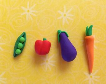 Miniature vegetables - Set of 4