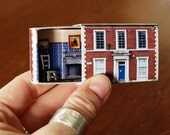 Matchbox House: Miniature Room inside a Matchbox