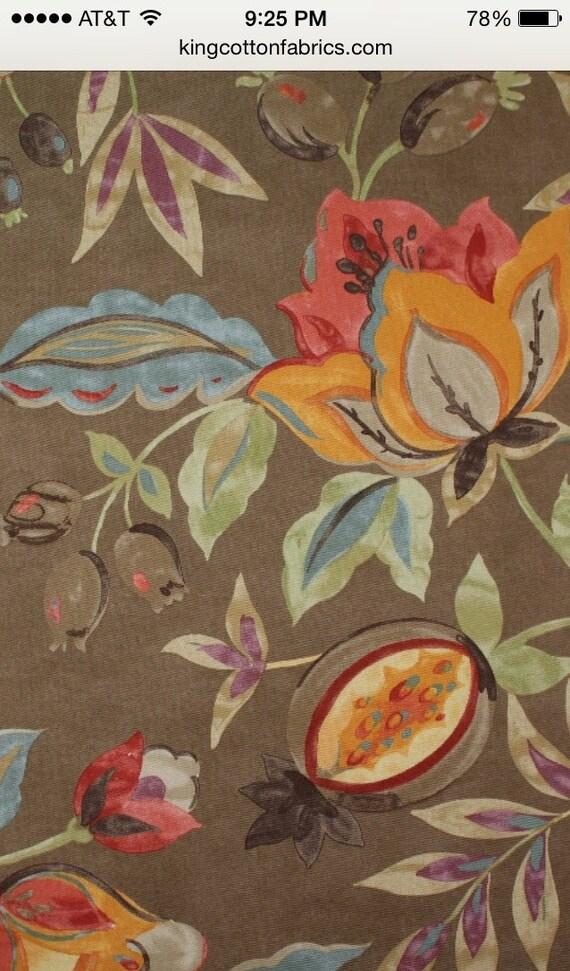 Modern Poetic Fabric by ShopMyFabrics on Etsy