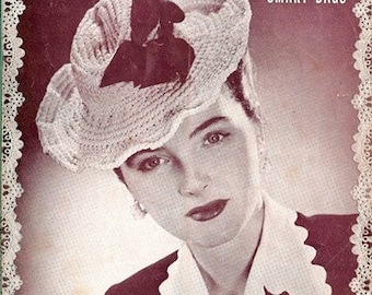New Hats and Smart Bags Vol. 18 Magnificent Crocheted Hats and Bags 1944