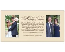 personalized marriage prayer frame wedding vow promise