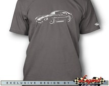 Daytona Coupe Replica T-Shirt for Men - In the Spotlights - Multiple colors available - Size: S - 3XL - Great American AC Cobra Replica Gift