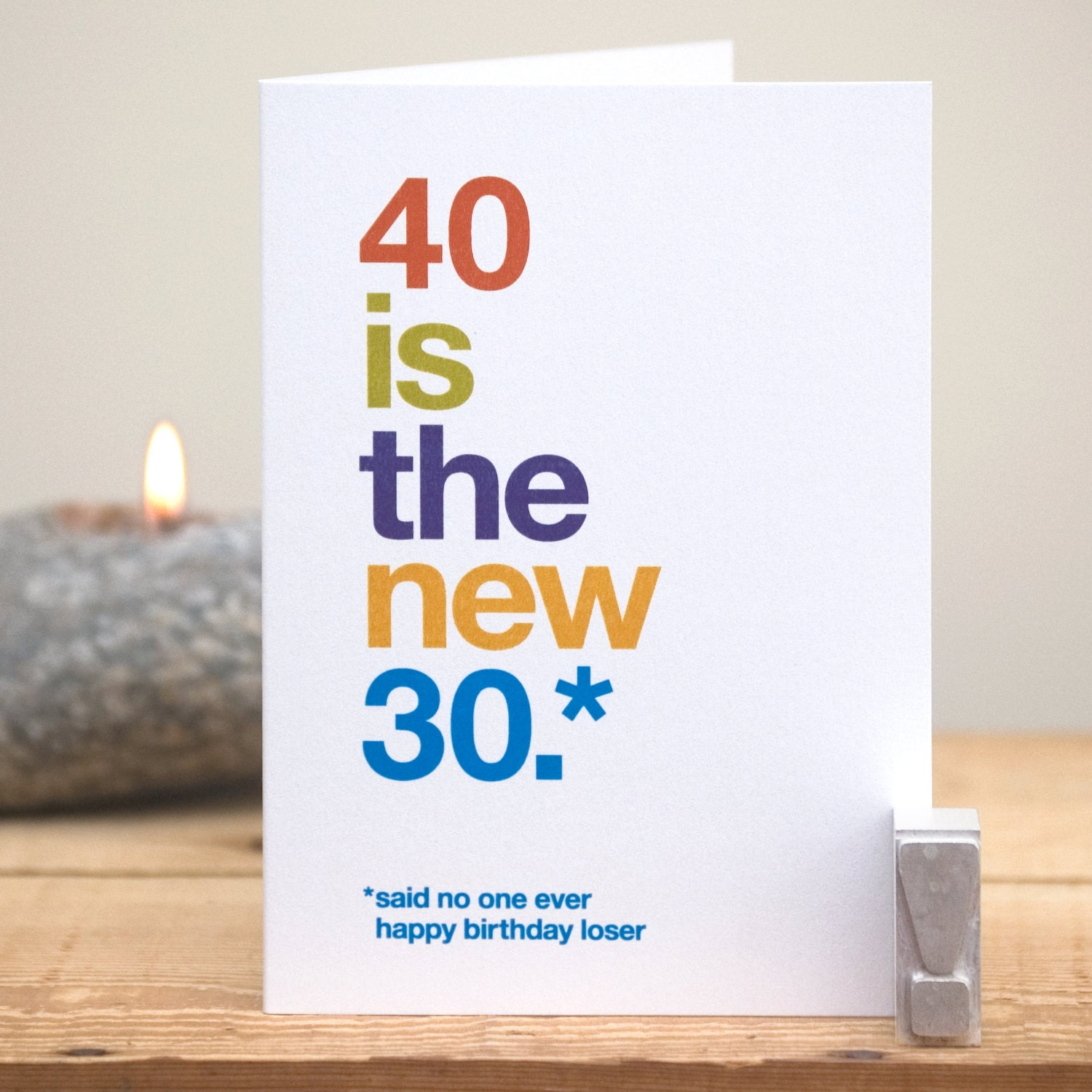 40th birthday card – Husband 40th Birthday Card