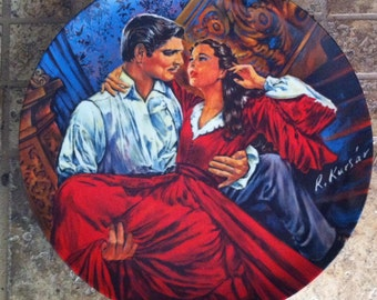 Scarlett and Rhett - The Finale - Gone With the Wind Collectible Plates