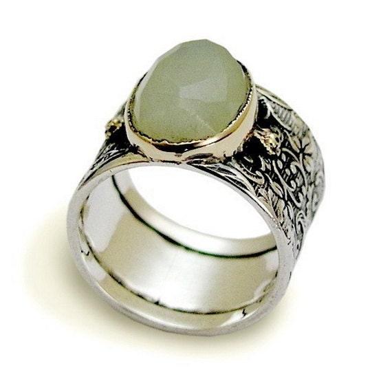 jade engagement ring vintage gemstone band sterling silver. Black Bedroom Furniture Sets. Home Design Ideas