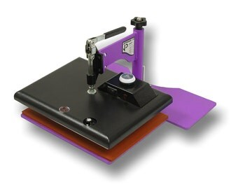 "JP12 Heat Press - Geo Knight Commercial Heat Press - 9""x12"" Heavy Duty, Economical Swing Away Heat Press"