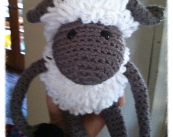 Gabby the Amigurumi Sheep
