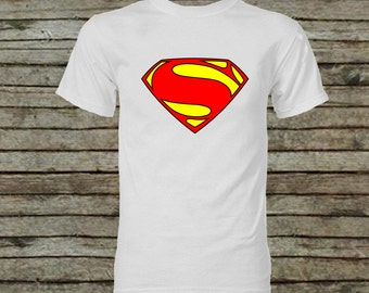 Superman Iron On Diy Instant Download