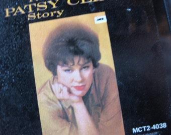 Vintage Patsy Cline 8-Track Tape ~ The Patsy Cline Story ~ Vintage 8-Track Tape