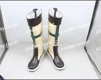 Final Fantasy X Rikku Custom Made Cosplay Boots/Shoes