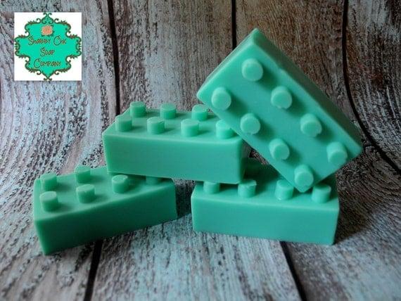 Lego Inspired soap bars