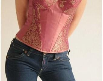 boned corset overbust Lanaparma