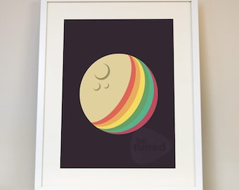 Pink Floyd - Dark Side of the Moon Music Poster Art Print Classic Psychedelic Rock And Roll Album