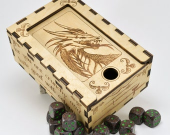 Dungeons and Dragons Dice Box