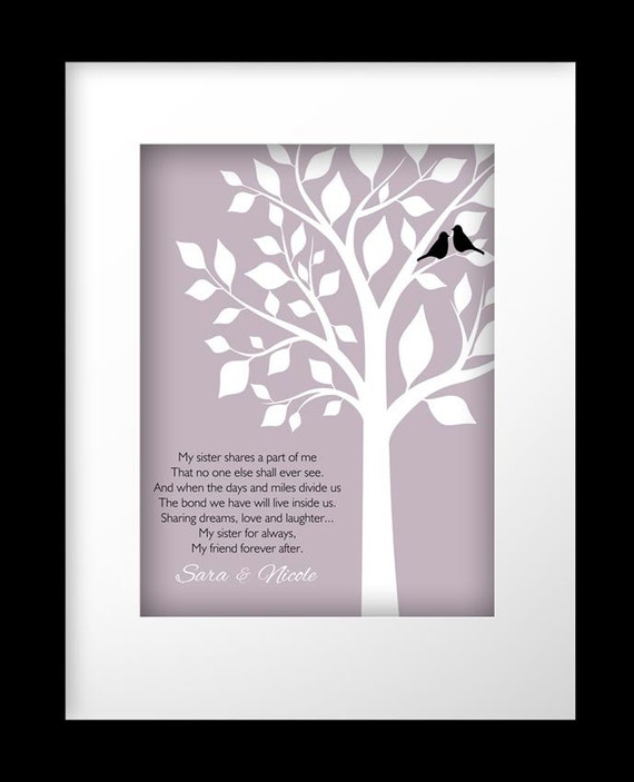 Gift For Sister In Law On Wedding Day : Sister Gift Personalized Gift for Sister Wedding Gift for Sister ...