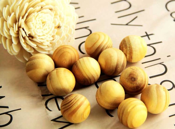 Aroma Scented Fragrant Wooden Balls