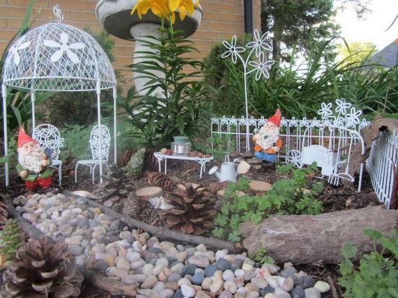 Items Similar To Miniature Fairy Gnome Garden Kit Gazebo