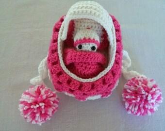 Crochet Cradle Purse