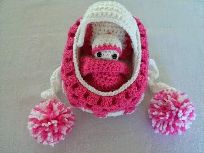 Crochet Bag Pattern Cotton : Crochet Cradle Purse