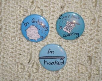 In Stitches Button set